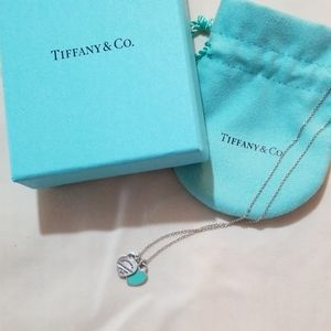 Tiffany & Co. Double mini heart necklace